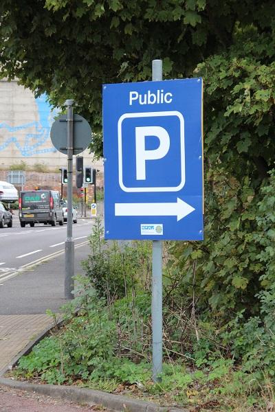 Grafton Way Car Park Ipswich