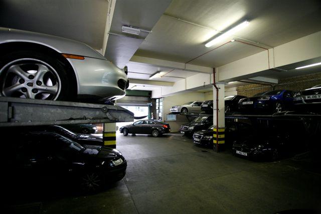 Bouverie car park