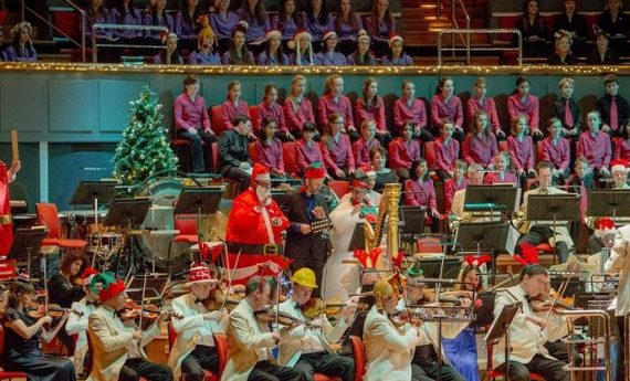 Pre-book Parking for Choral Christmas Symphony Hall